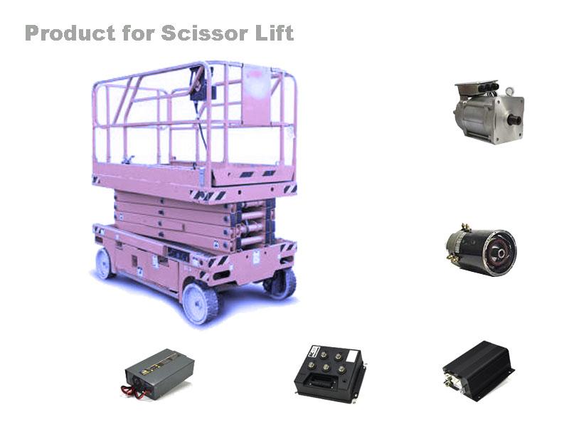 Scissor Lift Motor Controller - EV Drive System, Etrike